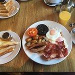 Full English breakfast! Spot on