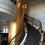 Coco Pazzo Mont Trembalnt - staircase to mezzanine