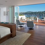 View from the Alexandrite Suite, The Mansion at Casa Madrona