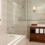 Guest Room Bathroom at Casa Madrona Hotel & Spa