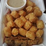 New Country Fried Steak Fingers (and tots)