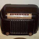 Part of a radio display(old Bendix radio)