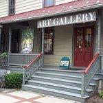 The Front Door at Julia Swartz Art Gallery
