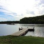 Dock at the lake.