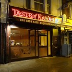 Look for the welcoming glow of the Taste of Nawab down Colney Hatch Lane.