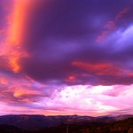 Sunset and Thunderclouds, Venga Venga, Snowmass, CO