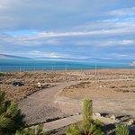 Espectacular vista del lago argentino