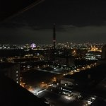 Night View of Osaka city from the room 26th Floor