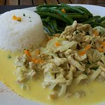 Dish of the day : Chicken curry.