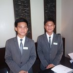 Welcoming smiles from front desk staff