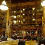 Main Lobby for the Wilderness Lodge
