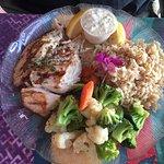 Mahi Mahi plate