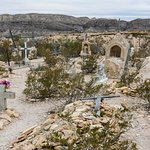 The Ghost Town Cemetery