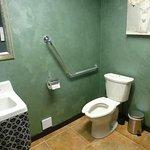 A clean washroom