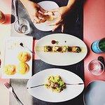Butano, ensalada de palmito y nuestro pan hecho en casa!!!