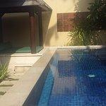 Villa 11 - pool was very clean.