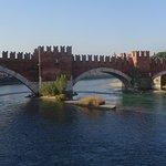 View of Bridge from Arco dei Gavi