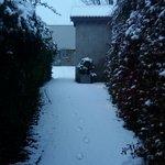 Chemin qui mène au jardin : Bonhomme de neige autorisés :)