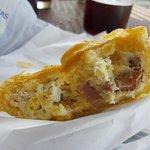 Inside the Breakfast Pie