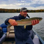 Rainbow Trout Fall Fishing Lake Lucille August 2016