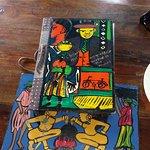 colourful menu