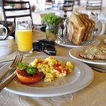 Deliciously prepared breakfast