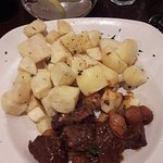 'Beef stifado' - £16.95. Very disappointing.