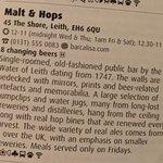 Photo of Malt & Hops
