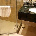 Marble top wash basin
