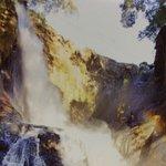 龍宮滝の虹