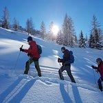 Vom Tauernhof organisierte Schneeschuhwanderung