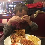 Kids meals are good value.