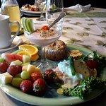 Déjeuner raffiné de Christine
