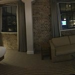Panorama of Columbia Wharf building room