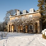 Chiseldon House in winter