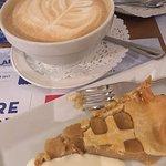 Sugar Pie and caffè latte