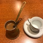 This place is a Hidden Gem, the Turkish coffee is a must the presentation and dishes were glorio
