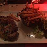 Pièce de bœuf rôtie