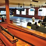 Bar with Bowling Alley