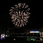 Fireworks after Friday night games. A great show!