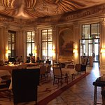 Dining room just off foyer of Le Meurice