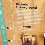 Fabulous 'Caddy' Laura was a wonderful guide for our Historic underground tour
