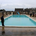 A lovely heated outdoor pool - brilliant for all the family.