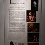 Panel explicativo de José Camarón