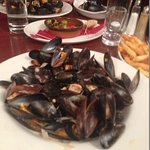 A monster bowl of Mussels by any measure