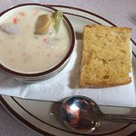 Green Chile Clam Chowder