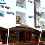 El hotel ubicado en el malecon  uno de los sitios mas turisticos del municipio.