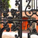 Firehouse Restaurant - Patio dining area gate