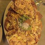 Chicken Nachos with Guacamole!
