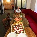 La pizza piu lunga di Sauze!